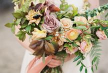 colorful bouquets / by Mallory Joyce Design
