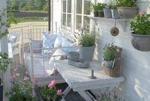 Balkóny,verandy,venkovní posezení...