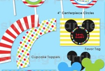 Mickey and Minnie Mouse Party Ideas