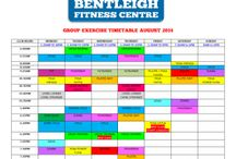 Group Ex timetables