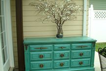 Old furniture - new life / Old furniture made new