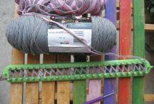 loom knitting / by Kolleen Barlow