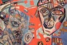 Pavel Filonov / Russian Avant-Garde Artist / by Elizabeth Elkin