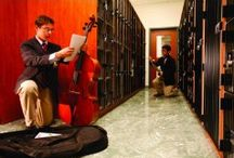 Musical Instrument Storage Solutions / Storage cabinets and storage solutions for fragile musical instruments