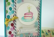 Stampin' up! - Sketched Birthday / Stampin' up stamp set and card design