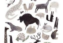 звери разные и животные
