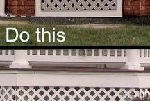 Porch Skirt (Lattice)