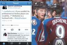 Puck: Landeskog/Duchene / NHL boy band in the making. / by Kat Law