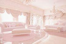 Girly pastel vintage bedrooms
