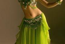 Belly dancing...