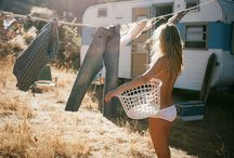 Camping and laundry
