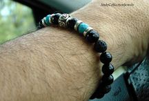 Men's bracelets hancrafted by AndyCollectionJewels