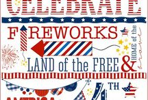 4th of July / Crafts, foods, decorations, clothing and activities for Independence Day July 4th