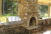Outdoor Fireplaces / by Kay Milam