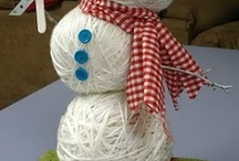 for the love of Snowmen / I love all Snowmen :) / by Linda Roessler