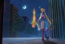 Moon / Foto van de serie Sailormoon