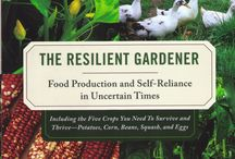 Books on gardening, farming, permaculture, healthy food etc.