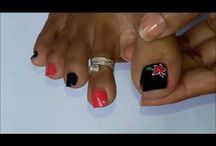 toe nailart