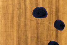 James Brown / Las diez pinturas que componen Plomo fueron realizadas por James Brown (Los Ángeles, 1951) entre 1988 y 1993 cuando, tras dejar a un lado la figuración propia de obras anteriores, comenzó a cultivar en profundidad una tendencia hacia la abstracción a la que ya apuntaban sus comienzos.