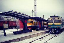 Állomások, megállók / by Vasútmodell-Centrum