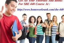 SBE 440 Study Materials For DeVry University