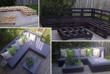 Pallet ideals / Wood pallets / by Tina Weaver