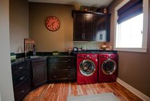 Laundry Rooms / Make your laundry room a place you'll want to spend time in!