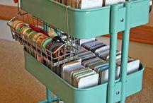 organizador scrapbooking
