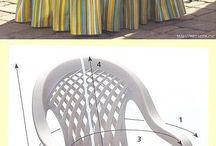 Kerti székek huzatok