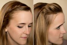 Hair. / Hairstyles. Hair tips.  / by Cheyenne Crawford