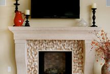Fireplace Tile / by Angela Boggs