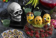 Halloween Decoration, Snack and Cocktail Ideas