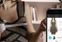 Smart measuring tape to shop fashion online / Shop online with your right size