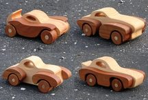Hand crafted wooden toys