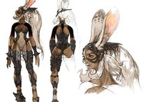 char design / concept character design