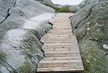 Walkways in nature