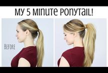 5 min hairstyles