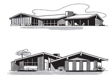 Mid century Home sketches