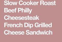 Roast Beef Philly Steak Sandwich
