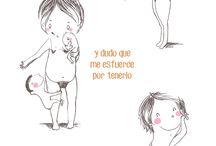 My motherhood / Viñetas a partir de mi segundo embarazo