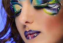 Fantasy make up & body paint