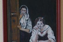 my work / Akryl painting