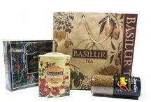 Exkluzívne čaje a káva zo Srí Lanky a Kene / Čaje a káva výnimočnej kvality, netradičné obaly, špeciálne materiály, všetko v originálnej papierovej taške, sú ideálnym darčekom pre každého.