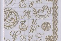 Alfabetisch borduren