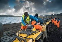ATV Tours, Day Trips and Mountain Biking in Iceland / Enjoy ATV tours, Day trips and Mountain Biking in Iceland with expert guides who are highly experienced and have been driving all terrain vehicles for years.