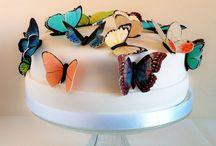 Tarta mariposas / www.memcakesandcookies.com
