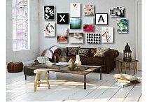 Liście - aranżacje Artistiqe / Zestawy obrazów proponowane przez artystę.