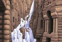 Dipinti con illusione ottica di Rob Gonsalves