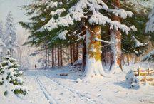 Walter Moras painting