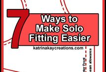 Sewing-fitting / Misc tips for fitting